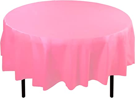 Amazon Com Pink Tablecloths Kitchen Table Linens Home Kitchen