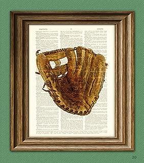 Best baseball glove art Reviews