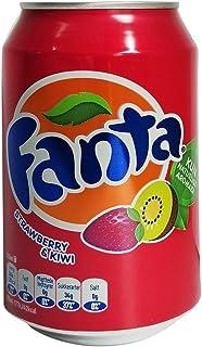 Fanta Aardbei en Kiwi, 330 ml, Pack van 12