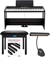 KORG XE20SP 88 Weighted Keys Digital Piano with Stand and 3