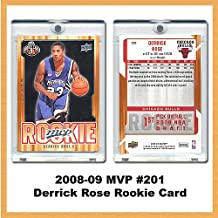 Burbank Sports Cards Chicago Bulls Derrick Rose 2008-09 MVP Rookie Card