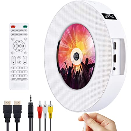 Dvd Cd Player Bluetooth Gueray Portable Cd Player Wall Elektronik