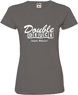 Womens Double Deuce Jasper Missouri Deluxe Soft T-Shirt