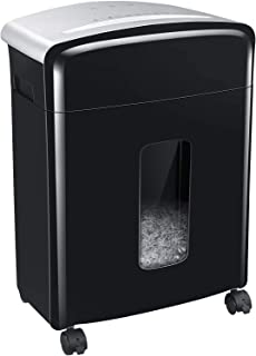 Bonsaii Updated 12-Sheet Micro Cut Paper Shredder with 30-Minute Continuous Running Time, Credit Card Shredders for Office...
