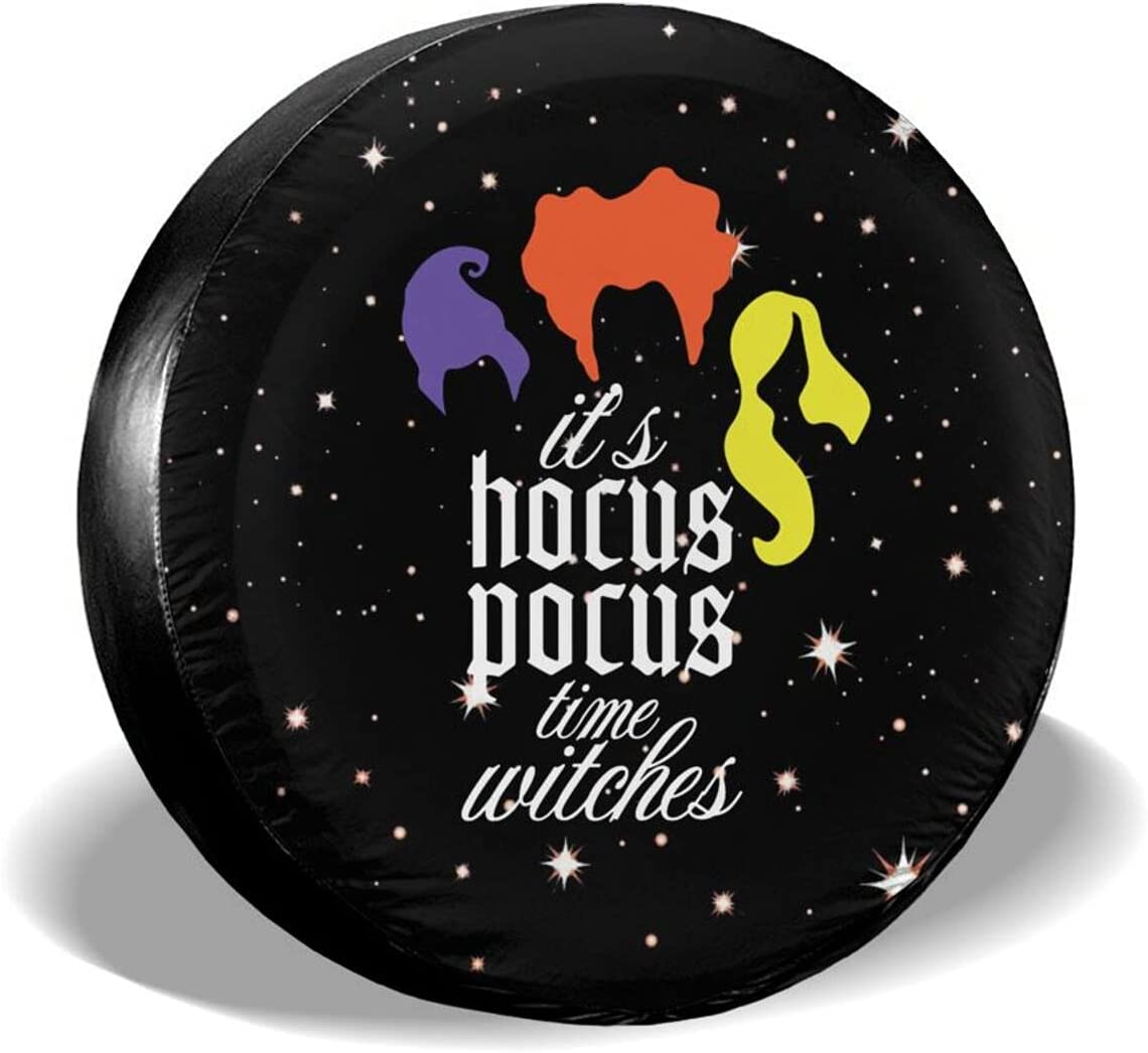 Yamivvog supreme Wholesale Its Hocus Pocus Time Wheel Waterpr Witches Covers Funny