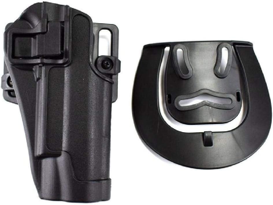 BGJ Equipo táctico Militar Colt 1911 Estuche para Pistola Estuche para cinturón de Mano Derecha Pistola para cinturón Funda para Paleta Equipo de Caza Airsoft