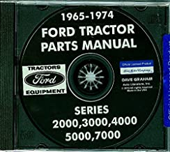 COMPLETE And FULLY ILLUSTRATED 1968, 1969 1970 FORD TRACTOR PARTS MANUAL CD Includes 2000 3000 4000 5000 & 7000 Series