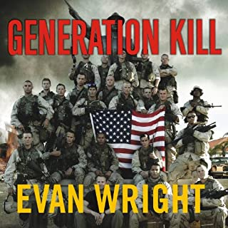 Generation Kill audiobook cover art