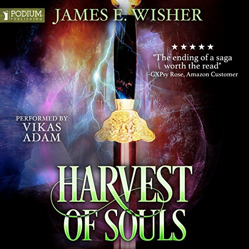 Harvest of Souls audiobook cover art