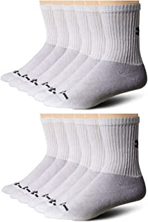Adult Charged Cotton 2.0 Crew Socks, 6-Pairs