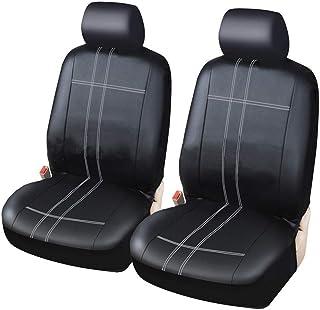 9tlg Sitzbezüge Schwarz Komplettset Universal Auto Sitzbezug Schonbezüge Set