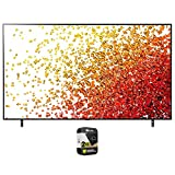 LG 86NANO75UPA 86 Inch Nanocell LED 4K UHD Smart webOS TV 2021 Bundle with Premium 2 Year Extended Protection Plan