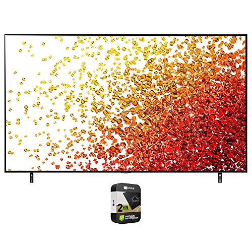 LG 75NANO75UPA 75 Inch 4K Nanocell TV 2021 Model Bundle with Premium 2 Year Extended Protection Plan