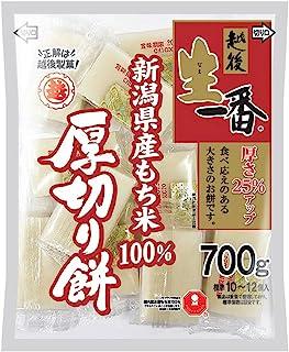 越後製菓 生一番厚切り餅 700g