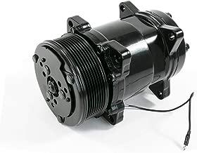 A-Team Performance Sanden 508 Style Clutch Serpentine A/C Airconditioning Compressor Black