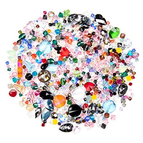 Swarovski - Create Your Style Swarovski Mystery Assortment Mix-100g 100g Crystal Bead Mix, Multi