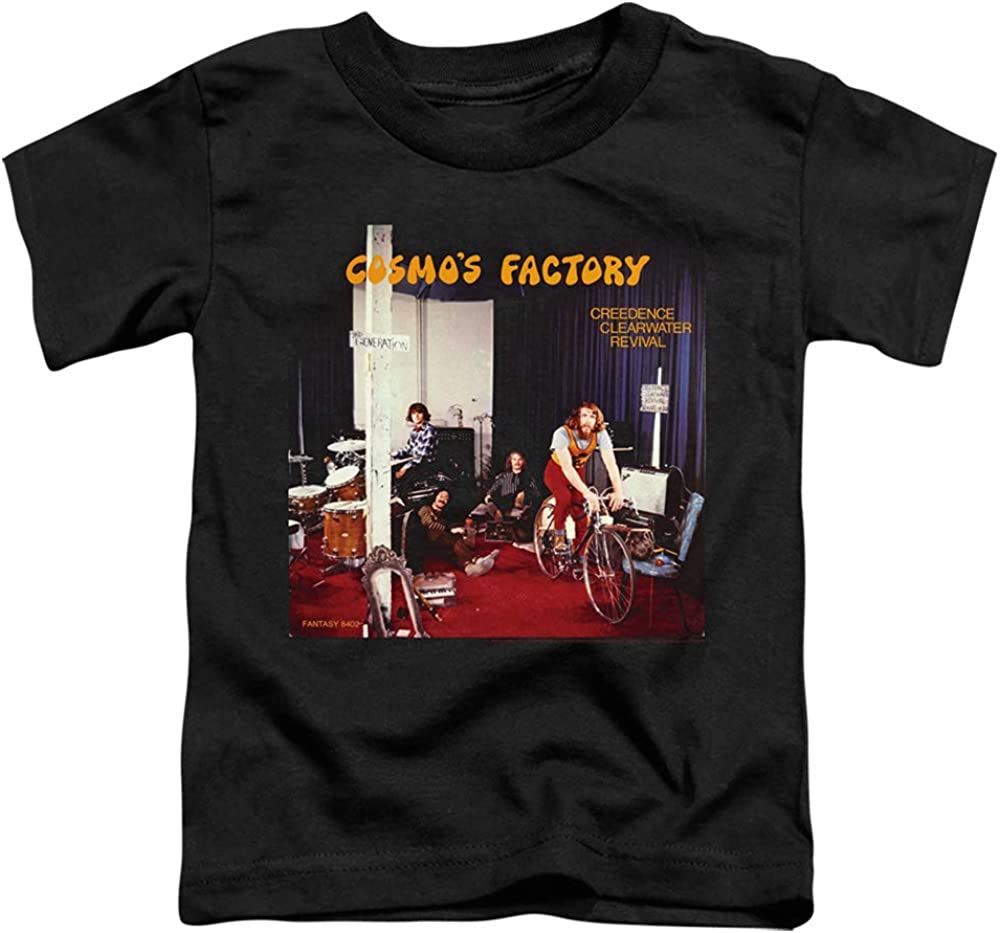 Creedence Clearwater Revival Cosmos Factory Album Unisex Toddler T Shirt for Boys and Girls