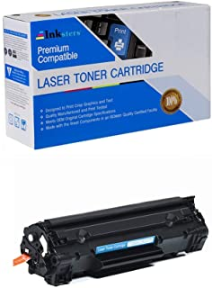 Inksters Compatible Toner Cartridge Replacement for HP CF283X (83X) Black - Compatible with Laserjet Pro M201N M201DW MFP M125 M125NW M201 M225 MFP