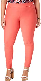 Womens Plus Casual Pull On Ankle Pants