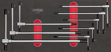 corta, 6mm KS Tools 151.2026 Llave allen