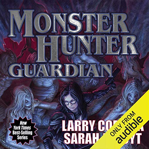 Monster Hunter Guardian audiobook cover art