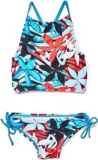 Kanu Surf girls Daisy Beach Sport Halter Tankini 2-Piece Swimsuit Two Piece Swimsuit