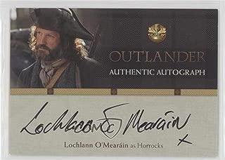 Lochlann O'Mearain as Horrocks (Trading Card) 2016 Cryptozoic Outlander Season 1 - Autographs #LO