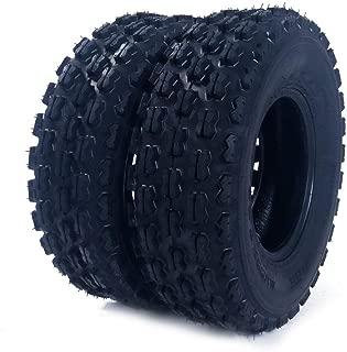 2Pcs 19X7-8 ATV UTV Tires Front Left And Right Tubeless Sport Tires 4 Ply P327 19-7-8 19/7 8 Load Range B ATV UTV Tires