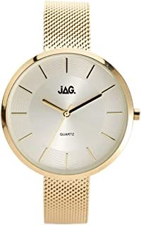 JAG Women's J2055A Year-Round Analog Quartz Yellow Gold Watch