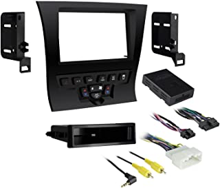 Metra 99-6525B Single/Double DIN Dash Kit for 2011 - Chrysler 300 Vehicles (Black)