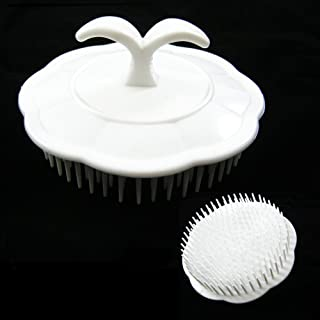 Deluxe Hair Shampoo Brush Scalp Clean Massage Massager Comb Head Care Salon New