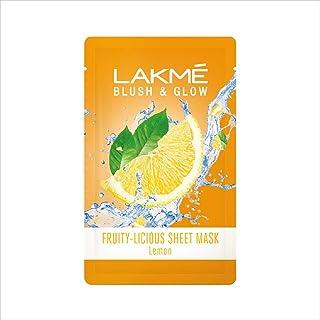 Lakme Blush & Glow Lemon Sheet Mask, 20 ml