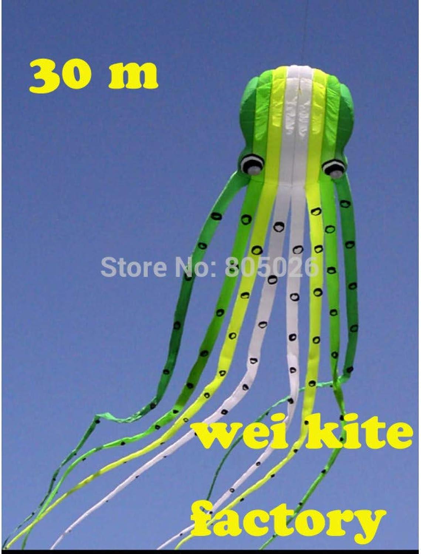 ZSYF Drachen Kite 30M Octopus Drachen Einfache Kontrolle, Die Hher Fliegt, Mit Handle Line Outdoor Drachen