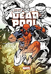 dead pool coloring book