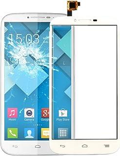 QFH Touch Panel for Alcatel One Touch Pop C9 / 7047(Black) قطع غيار لوحة اللمس للهاتف المحمول (Color : White)