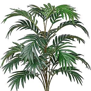 Silk Flower Arrangements Artificial Palm Plants Leaves Faux Fake Tropical Large Palm Tree Leaves Imitation Leaf Artificial Plants