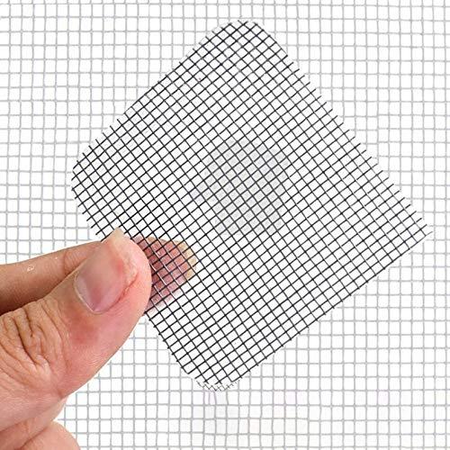 ukYukiko 24 Stks Anti-Insect Patch Vlieg Deur Raam Anti Muggenscherm Reparatie Stickers