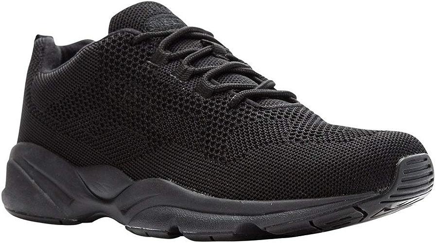 Propet Men's Stability Fly baskets, noir, 9 W