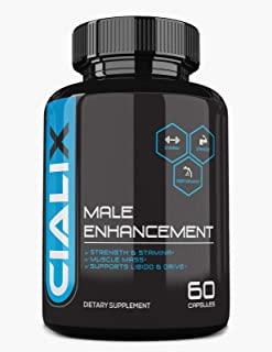 Cialix Male Enhancement Supplement - Male Enhancing Pills for Men (Dietary Supplement - 1 Month Supply)