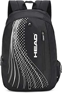 HEAD Sprint 18 Ltrs Black Laptop Backpack (HD/SPR01BP)