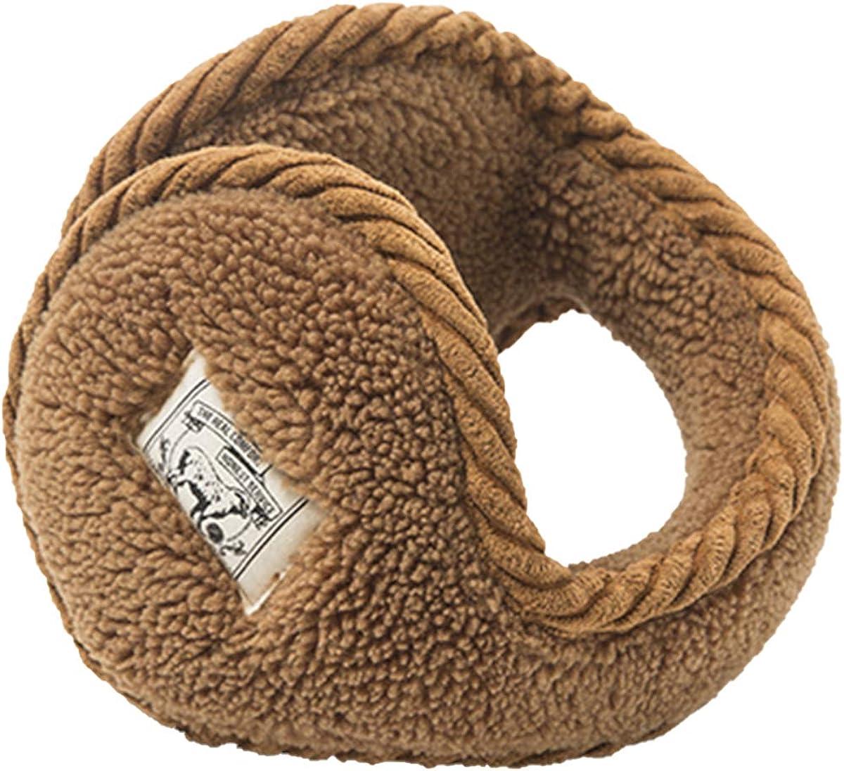 Unisex Winter Ear Muffs Ear Warmers Earmuffs Foldable Ear Covers Classic Fleece Warm Earmuffs for Cycling Running