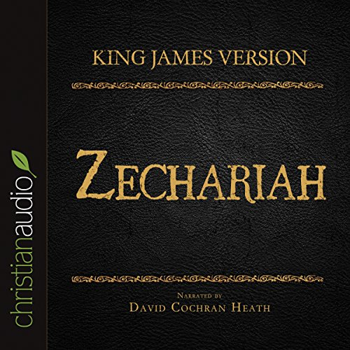 Holy Bible in Audio - King James Version: Zechariah audiobook cover art