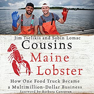 Cousins Maine Lobster audiobook cover art