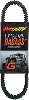 SuperATV Heavy-Duty Extreme Badass Drive Belt for 2018-2020 Polaris RZR XP Turbo S/RZR XP Turbo S 4 | Built for high temps and extreme abuse!