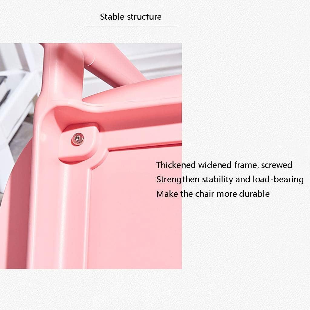 Chaise Minimaliste Moderne Maison Dossier Adulte Restaurant Tabouret De Bureau en Plastique Longue (Couleur : Vert) Vert