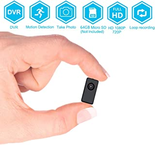 BSTCAM Spy Hidden 1080P HD Wireless Home Security Surveillance Mini Cameras, FHD Tiny Wearable Body Worn Video Recorder Na...