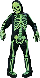 Skelebones Child Costume Green - Large