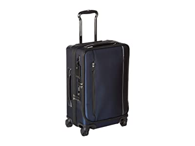 Tumi Arrive International Dual Access 4 Wheeled Carry-On (Navy) Carry on Luggage