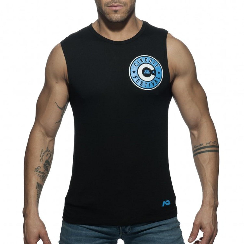 (アディクティッド) ADDICTED メンズ タンクトップ スリーブレス ノースリーブ 男性下着 インナーシャツ