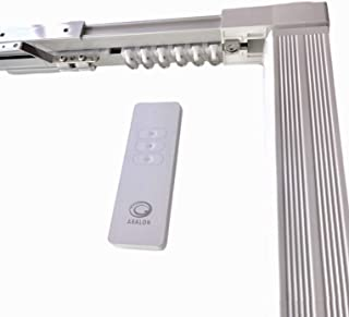 Abalon Motorized Track for Curtains With Remote Control, 1 to 6 meters, Motor Wifi compatible with Alexa, Google Home, Sma...